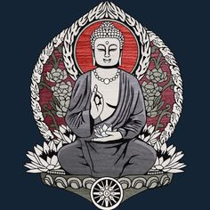 Siddartha Gautama Buddha is a T Shirt designed by Snazzygaz to illustrate your life and is available at Design By Humans