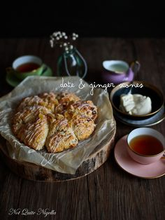 Date and Ginger Scones