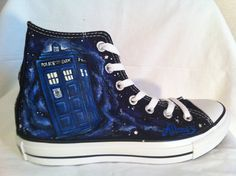 Doctor Who custom Converse