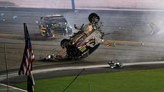 nascar crash tonight