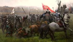 The Battle of Świecino also called the Battle of Żarnowiec or in German Battle of Schwetz, took place on September 17, 1462 during the Thirteen Years' War. The Poles commanded by Piotr Dunin, consisting of some 2000 mercenaries decisively defeated the 2700 mercenaries of the Teutonic Knights commanded by Fritz Raweneck and Kaspar Nostyc. Auxiliary forces sent by duke Eric II of Pomerania, an ally of the Polish king, did not enter the battle.