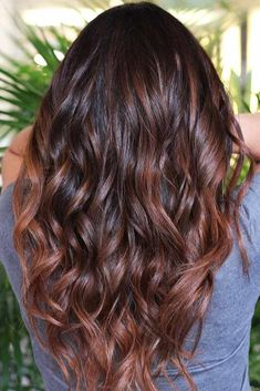 Chestnut Brown Tint For Dark Hair #brunette #brownhair #wavyhair ❤️ Want to find some chestnut hair color ideas? Warm brown hair with highlights, chestnut locks with golden balayage, light ombre for dark hair and more inspiring ideas are here! ❤️ See more: http://lovehairstyles.com/chestnut-hair-color-ideas/ #lovehairstyles #hair #hairstyles #haircuts