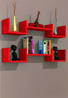 If you're searching for a storage solution or decorative addition to add functionality to your room without taking up floor space,wall mounted shelving could be a great choice. Wall mounted furniture is frequently used to hold books, movies, music, photos, and décor, in spaces such