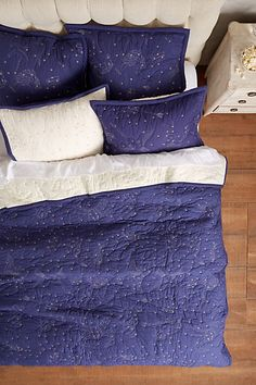 Cosmos Coverlet - anthropologie.com