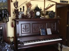 i love to collect and this piano was bought for one hundred dollars and if you come to my shop i sell you one just as old for the same