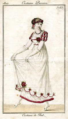 1807 Costume Parisien, plate nr. 783