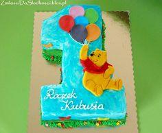Winnie the pooh - first birthday cake :)