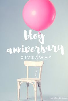 Blog Anniversary Celebration with a Giveaway of a Few of My Favorite Things! Valued at $1500!