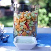 Melon-Radish Salad