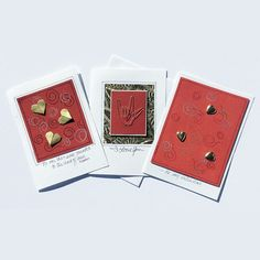 Valentine Card SetValentines Day CardRomantic by LittleBirdDePapel