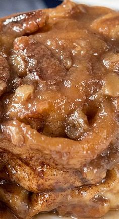 These Easy Caramel Pecan Rolls are the perfect holiday breakfast. Easy, fast, no yeast and no rise, they're foolproof sticky buns without all the work! Best Breakfast Recipes, Brunch Recipes, Dessert Recipes, Pecan Desserts, Brunch Food, Breakfast Meals, Pecan Recipes, Bar Recipes, Sweet Breakfast