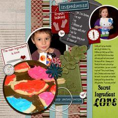 Secret Ingredient LOVE - Scrapbook.com