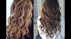 How to curl your hair without heat !! - YouTube