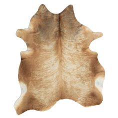 Shop for Natural Tan Cowhide Rug (5' x 6'6). Get free shipping at Overstock.com - Your Online Home Decor Outlet Store! Get 5% in rewards with Club O!