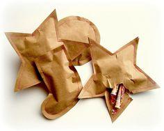 простая упаковка для конфет новогодняя своими руками мастер-класс