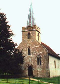 St. Nicholas Church, Steventon - Rev. George Austen's parish church. It was in the rectory at Steventon where Jane Austen was born in December 1775.