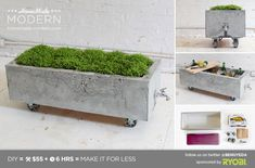 EP16 Concrete Planter