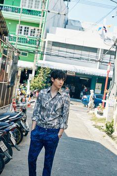 Nichkhun (2PM) - Singles Magazine April Issue '16