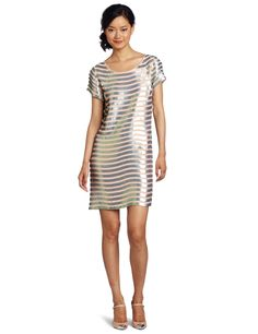 French Connection Women's Fast Eden Sequin Dress  where can i find dresses  http://wherecanifinddresses.com