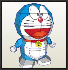 Doraemon (By Ling-Kong) Free Paper Craft Download