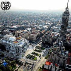 """P R E S E N T  I G  C I T Y  P H O T O  I @aerozoom_mexico S E L E C T E D  I @aleks_harlow L O C A T I O N  I """"Palacio de Bellas Artes y Torre Latinoamericana"""" Ciudad de México. D A T E  I 1 0 . 1 2 . 1 6  F E A T U R E D  T A G I #ig_mexico  F O L L O W  U S  I @ig_mexico_"""