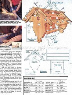 Birdhouse  Plans - Outdoor Plans