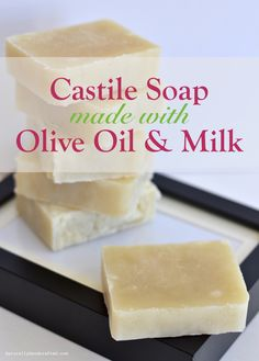 Want a soap that is gentle, moisturizing and hypoallergenic? Make your own all natural handcrafted castile soap with this hot process (crock pot) recipe that uses all natural ingredients, including olive oil and milk.