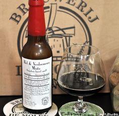 Cerveja De Molen Hel & Verdoemenis Misto Bourbon Barrel Aged, estilo Wood Aged Beer, produzida por Brouwerij de Molen, Holanda. 11% ABV de álcool.