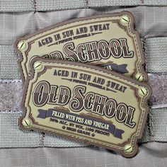 Old School PVC Patch