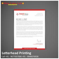 Letterhead Printing, Creative Director, Lorem Ipsum, Custom Design, Print Design, Names, Happy, Prints, Photography