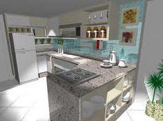 cozinha com ilha junto com mesa - Pesquisa Google