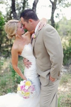 Vista West Ranch Wedding from Forever Photography | Elizabeth Anne Designs: The Wedding Blog.  Add lace to bust of gown?