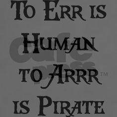 yes, i am a pirate
