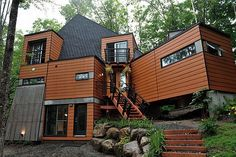 home built from shipping containers! Amazing!