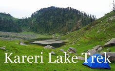Kareri Lake. Himachal pradesh
