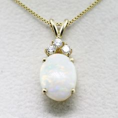 Spotlight on Opal Jewelry - If my dress allowed me to have a necklace, I think this one would match my ring beautifully :] - Opal Jewelry, Birthstone Jewelry, Gemstone Necklace, Luxury Jewelry, Silver Jewelry, Fine Jewelry, Pendant Jewelry, Diamond Jewelry, Jewelry Making