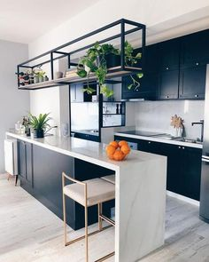 Kitchen Trends 2020 : Its About Balance with Plenty of Urban Flair Interior Design Kitchen Balance Flair Kitchen plenty Trends Urban Home Decor Kitchen, Interior Design Kitchen, New Kitchen, Home Kitchens, Kitchen Layout, Kitchen Ideas, Small Modern Kitchens, Kitchen Plants, Modern Kitchen Interiors