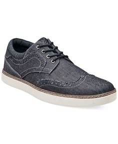Stacy Adams Tru Casual Wing Tip Shoes