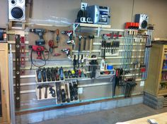Organize your garage and cut the clutter with this garage storage system that you can easily customize to fit any space and can hold almost anything. Description from pinterest.com. I searched for this on bing.com/images