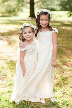 4c4a16405dc2 Crochet Flower Girl Dress, Lace Flower Girl Dress, Flower Girl Dresses,  Maxi Girls Dresses, Lace Top Flower Girl Dress, Handmade in the USA