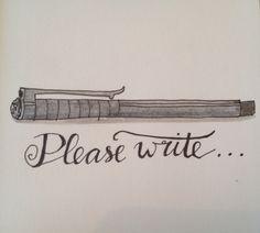 12 maart  Fineliner en Fabercastell   Please write...