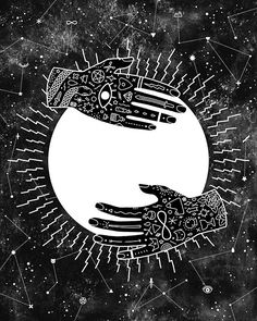 Lunar Phases - Full Moon, by Camille Chew
