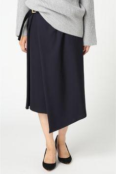 ラップスカート◆