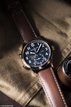 "bexsonn: "" The Patek Philippe Calatrava Pilot Travel Time ref. Best Watches For Men, Amazing Watches, Cool Watches, Watches Photography, Men Photography, Advertising Photography, Product Photography, Timex Watches, Men's Watches"