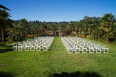 The venue at Yang's Botanical Garden in Port Orchard, WA. Photo by nallayerstudios.com