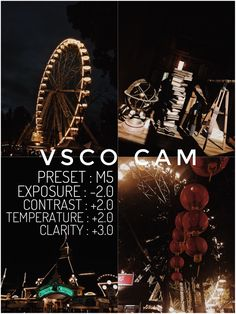 VSCO CAM FILTER #vscocam #vscocamfilter #m5
