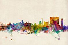 ¿Reconoces de qué parte de la India es este colorido skyline? Mayura restaurante & lounge - Barcelona