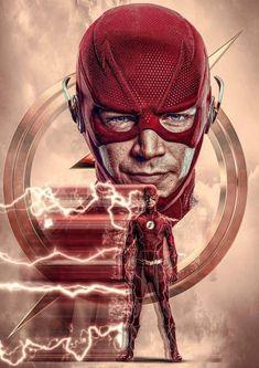 Handy Wallpaper, Flash Wallpaper, Flash Characters, Dc Comics Series, Flash Comics, Superhero Coloring, Foto Top, Iron Man Art, The Flash Grant Gustin