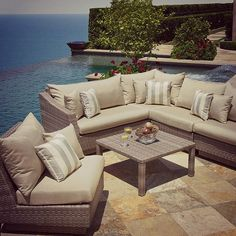 Do you like to relax outdoors in complete comfort? #Outdoors #Patio #Backyard