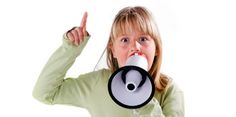 child with megaphone - Google Search